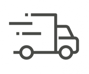 vector of a delivery truck