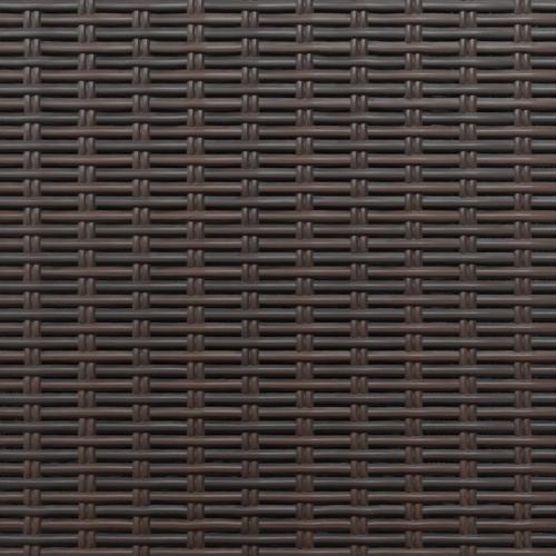 brown rattan color