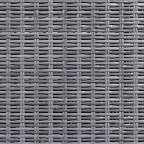 gray rattan color