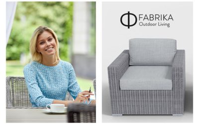 Create an outdoor office with rattan furniture