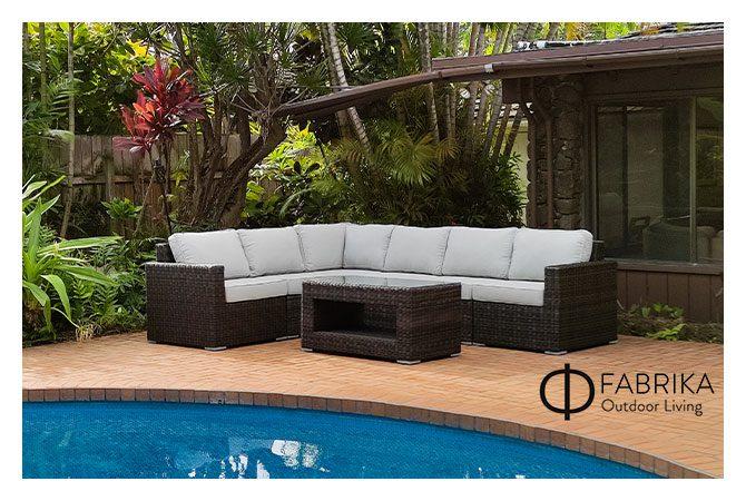rattan outdoor furniture properties